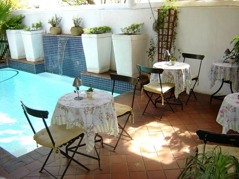 Stellenbosch Guest House Swimming Pool